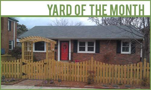 Yard of the Month Photots